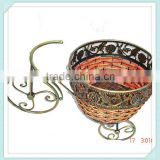 Decorative garden bicycle flower pot