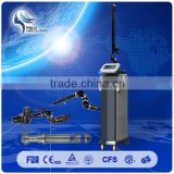 Eliminate Body Odor Laser Head Co2 Dermatology Laser Vertical 15W(20W) Co2 Tumour Removal Fractional Laser MEDICAL USE MACHINE Mole Removal