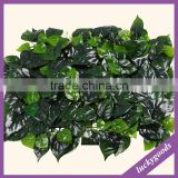 CP066 garden decoration fake Money plant leaf wall for sale
