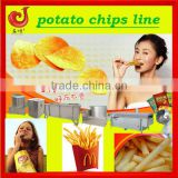 2013 industrial stainless steel fried potato crisps line/fried potato chips/potato strips production line