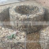 Factory price galvanized gabion basket/box for sale used for hesco barrier 2-6mm wire 0.5-2m size gabion wall basket/cage/box