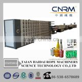 Single-screw Screw Design PP PE PET Monofilament Extruder Machinery / Rope Roping Production Line