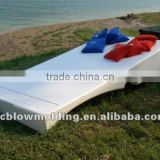 OEM Blow Molding Plastic PE Pontoon, Pontoon Boat Fishing HDPE Jet Ski Floating Dock