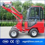 C11 hot sell tire III ROPS tilt cabin design powerful boom joystick good electric mini wheel loader