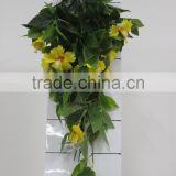Decorative leaf branch,fake Bougainvillea leaf branch/rattan plant