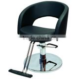 Round Base Modern Hydraulic barber chair hair cutting chairs with pedal wholesale barber supplies A32