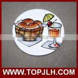 Topjlh promotional personalized sublimation coasters wholesale