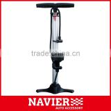 new model heavy duty bicycle Hand Pump with pressure gauge