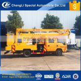 CLW company hottest 12m 14m 16m 20m max working height option 4x2 high altitude work truck for sale
