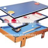 3 in 1 table game,Ping-pong/golf basket ball table game