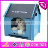 2015 new products Cute pet house for dogs,wholesale luxury pet dog bed ,handmade wooden dog bed W06F002C
