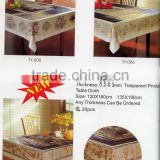 2016 Designed Printed PVC table cover cloth Direct factory/Manufactory supply/industrial