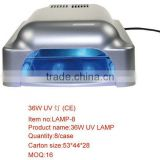 36w gel nail curing UV lamp(with dryer) easy use