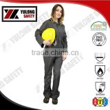 Wholesale Manufacture EN14116 88% cotton 12% nylon Flame Resistant Fabric Coverall For Oil Field