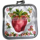 Online Shopping 100% Cotton Potholders Stock For Promotion