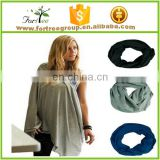 2017 Hot selling fashion new design knitted promotional women nursing scarf cover