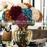 70cm multi color high quality silk artificial hydrangea flower wedding table hydrangea decor
