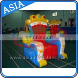 0.6mm PVC high back inflatable king/queen chair inflatable throne chair inflatable birthday chair for party