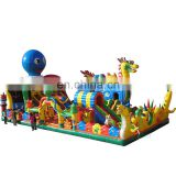 HI Giant Inflatable Floating Water Park, Inflatable Aqua Amusement Park, Commercial Outdoor Water Games