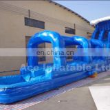 Best seller ocean blue giant inflatable water slide with long slideway and pool