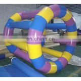 inflatable water roller, water games, colourful roller