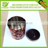 Logo Customized Promotional Tinplate Sugar Container