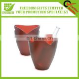 Logo Printe Customized Plastic Ice Bucket