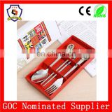 dinnerwares,spoon,fork,chopsticks with Beijing Opera Facial Masks