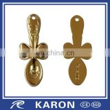 cheap quality custom metal spoon manufacturer in China