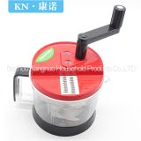 Easy use kitchen tool plastic food chopper salad spinner vegetable cutter, food