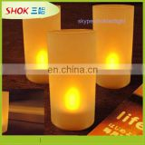 Ultra bright moving flame led candle,led window candle