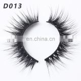 D013 3d mink eyelashes wholesale custom made eyelashes