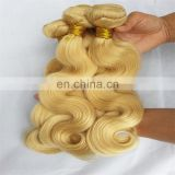 8a grade hair weaving blonde color 100% human hair brazilian body wave hair