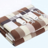 Synthetic Wool  blanket Soft Comfortable safety Electric Heated blanket Washable for muscular relaxation reduce stress