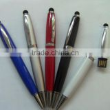 wholesale antivirus 3 in 1 functional usb pen drive wholesale, ballpoint pen usb flash drive with screen touch function