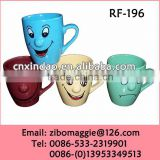 Personalized Hot Sale Porcelain Nose Promotion Cup for Modern Milk Cup