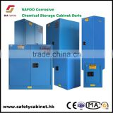 Poly Spillage tray anti acid Chemicals corrosive resistance Steel structure safety Cabinet