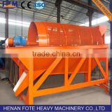 China Gold mine trommel drum screen manufacturer for sale