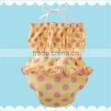 made in Japan cute and high quality baby swiming wear infant bikini kids bathing suit diaper wholesale