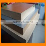High quality plywood board and mdf from china manufacturer with e2 furniture plain mdf board / raw mdf sheet/