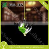 hot sale hanging colored flower glass vase                                                                         Quality Choice