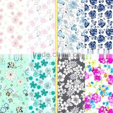 Flower designs printed fabric for dress /Antai textile nylon lycra spandex print fabric with flower