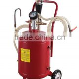 New style hot sell auto tool 30 gallon oil drain tank