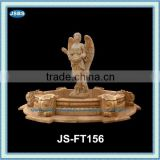 large stone angel water fountain outdoor