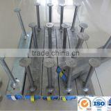 Precast Concrete Anchor channels and T bolts/cast in channel