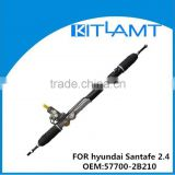 Power steering rack for hyundai Santafe 2.4 OEM:57700-2B210 LHD