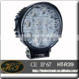 Flood beam for off road light 18W 24w 27w 39w 42w rechargeable led work light with magnetic base