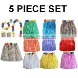 New Popular Grass Skirt Material & Hawaiian Hula Skirt Grass Skirt Material BWG-7031