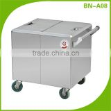 (BN-A08) Cosbao kitchen hotel food trolley/mobile food trolley/food serving trolley