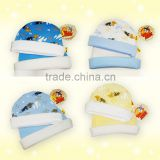 newborn baby clothing knitted baby hat Tom & Jerry printing clothing factory